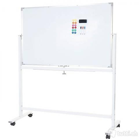 Whiteboard Magnettafel mobil rollbar, (Gratis Versand)