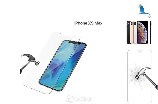iPhone Xs Max, Verre de protection. Neuf port inclus