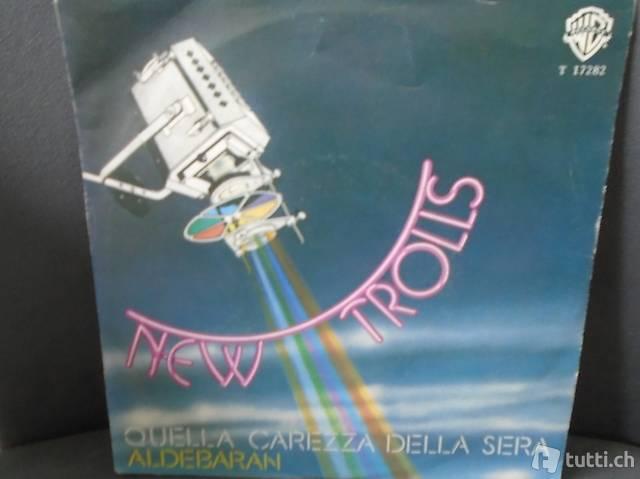New Trolls, Single Vinyl, Schallplatte