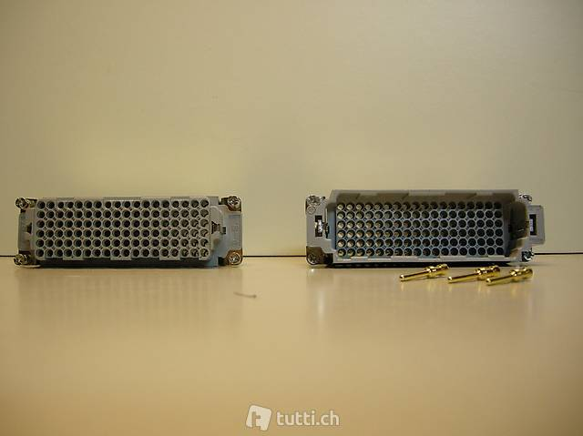 Industriesteckverbinder HTS elektronikHN2D