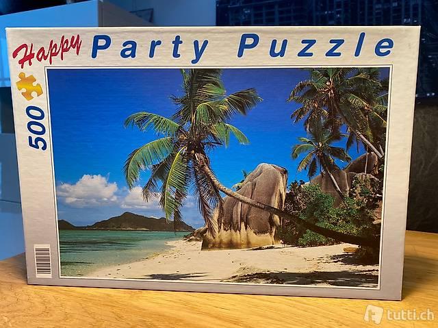 Puzzle Strand 500 Teile