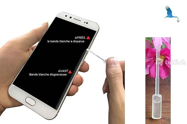iPhone X - Verre trempé - Combler vides d'air, bords blancs