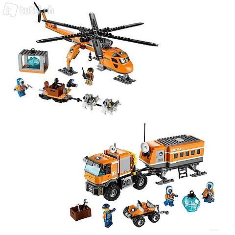 Lego 2x Arktis - Aussenposten und Helikopter