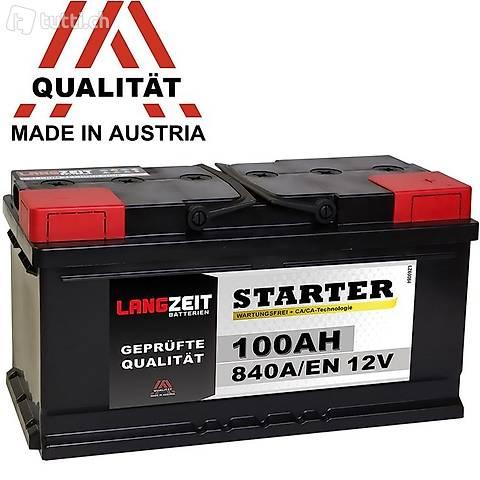 Starter-Batterie 12V 100AH