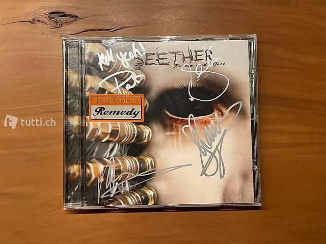 Seether CD: Karma and Effect mit orig. Unterschriften