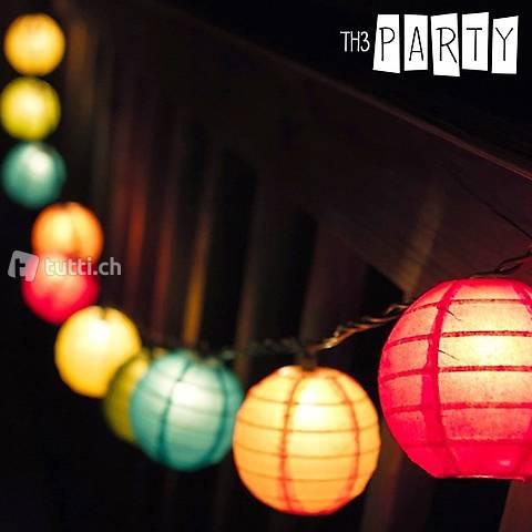 Lampions LED Pliables Th3 Party (pack de 8)