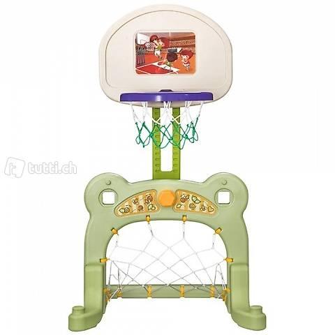 2in1 Kinder Basketballkorb + Fussballtor (Gratis Versand)