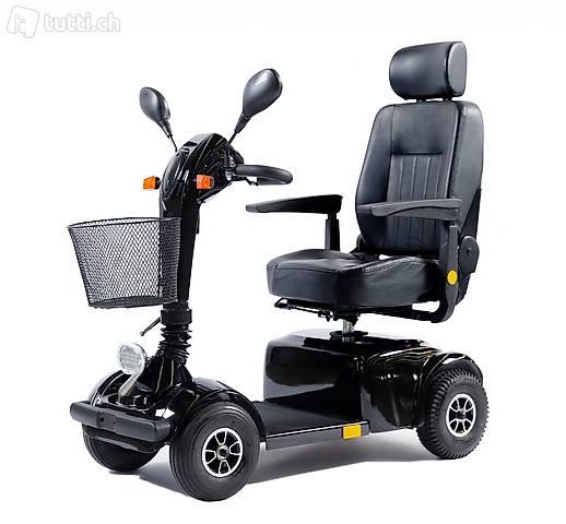 Scooter elettrico GO 10 km/h nero (Consegna gratuita)