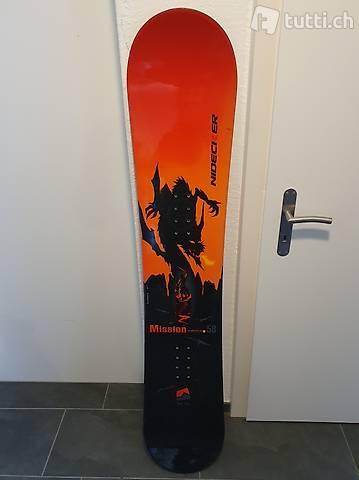 Niedecker Snowboard 158