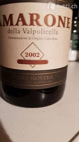 Verkaufen Amarone Wein der Jahrgänge 2000 und 2002