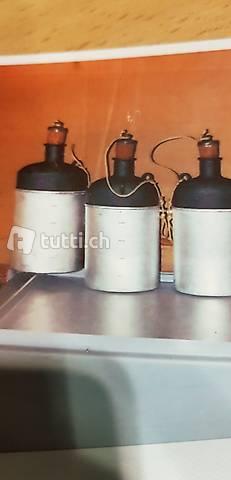 Schweizer Armee Feldflaschen