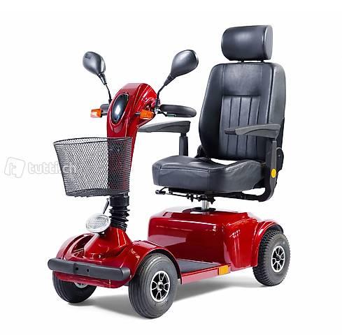 Scooter elettrico GO 10 km/h rosso (Consegna gratuita)