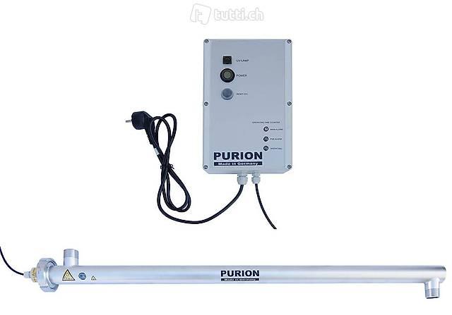 UV-Entkeimung 230VAC E S2 90W Sensor Relais 4000 L/h