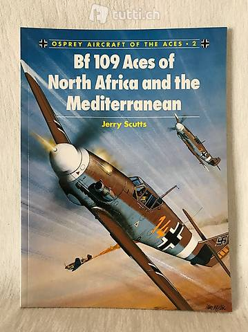 Livre - Bf 109 Aces of North Africa and the Mediterranean