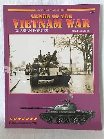 Livre - Armor of the Vietnam War - part 2 Asian Forces