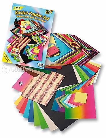 Bastelpapier Sparpackung Kreativset Ganzjahr 323 teilig