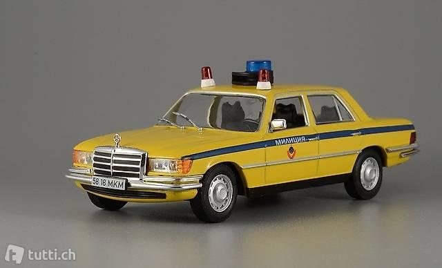 "NEU: Mercedes-Benz 450 SEL W116 1972-1980 ""Polizei Moskau"""