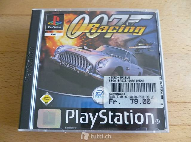 007 Racing - Sony PlayStation PS1 PSX