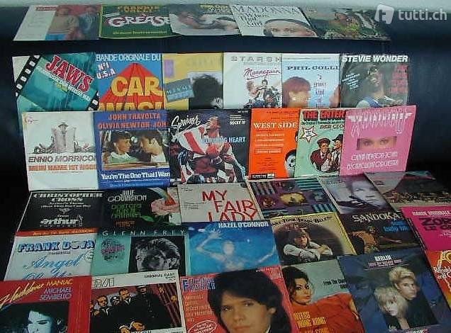 36 Singles: FILMSOUNDTRACK, 60er bis 80er Jahre