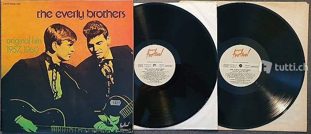 1 double lp: EVERLY BROTHERS - ORIGINAL HITS 1957-1960