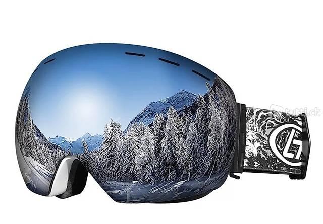 Maschera da sci nuova