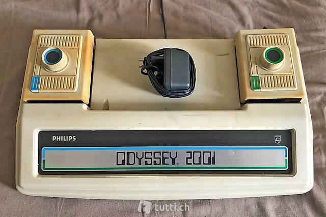 Original Spielkonsole Philips Odyssey 2001 aus den 70ern