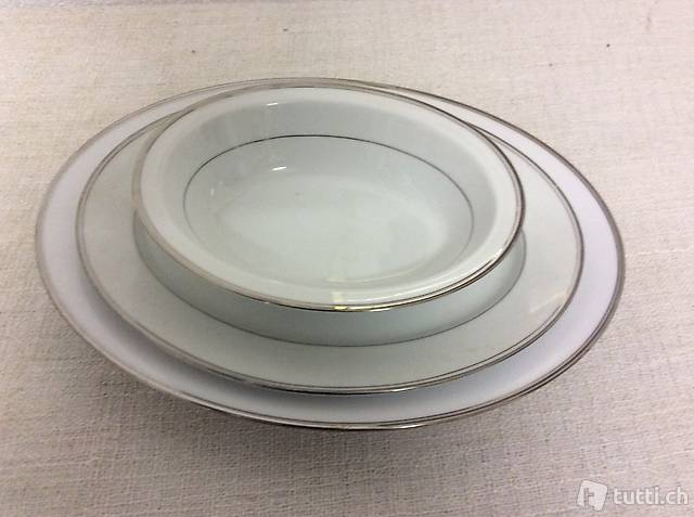 Eleganti piattidi portata in porcelana