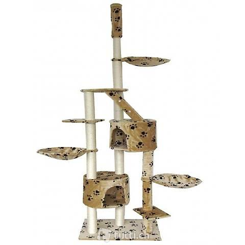 Katzenbaum deckenhoch 230 - 265 cm, (Gratis Versand)
