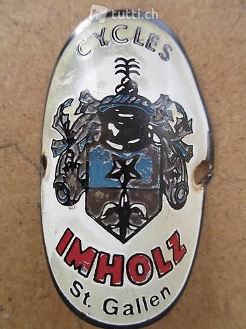 Imholz St.Gallen Velo Steuerkopf  CH Schild Emblem