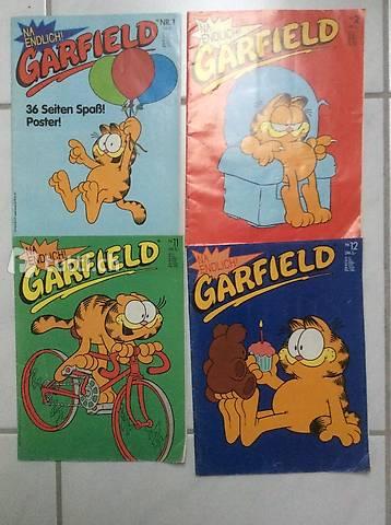 Garfield: 4 Hefte/Fat Cat 3 Pack / 40 Jahre Lachen und Lasag