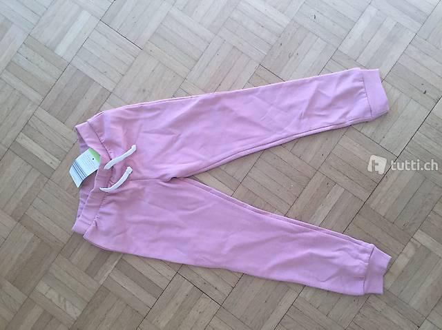NEU, Jogginghose rosa flauschig, 110/116