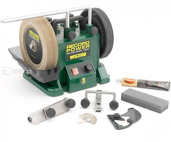 Nass Schleifmaschine WG200 von Record - ab Lager lieferbar