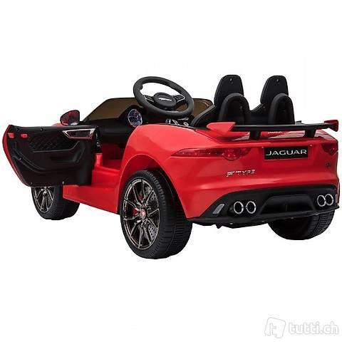 Elektroauto Kinderauto Jaguar F-TYPE rot (Gratis Versand)