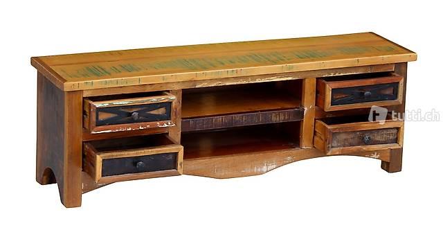 TV Möbel Vintage PRESLEY (Gratis Versand)