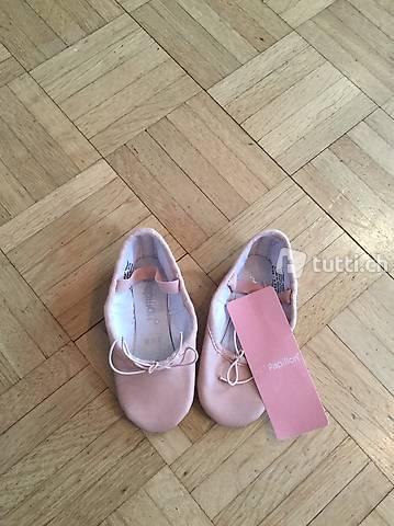 Ballettschuhe NEU, Papillon Leder 24.5