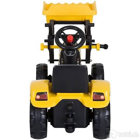 Kinder Traktor Kinderauto mit Frontlader (Gratis Versand)