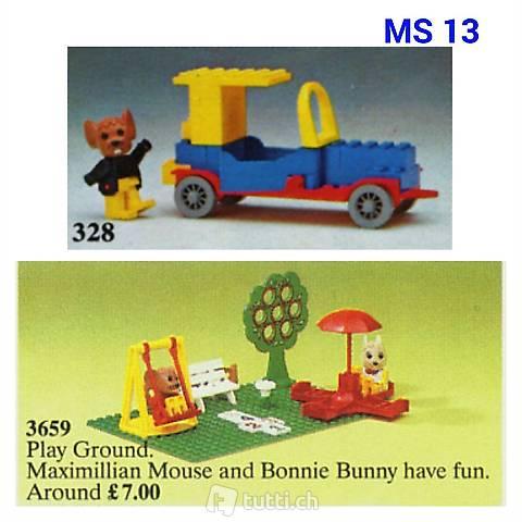 Lego Fabuland Roadster und Spielplatz (Set 13)