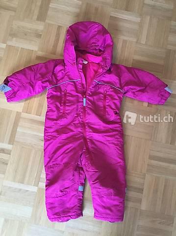 Schneeanzug Skianzug Grösse 86 pink