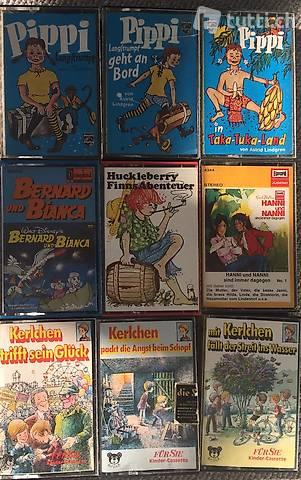 32 Kinder-Cassetten (Alter 0-12)