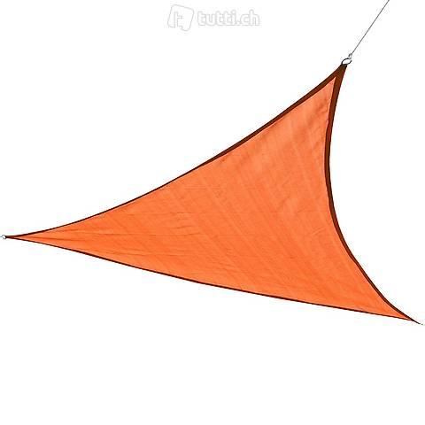 Sole vela triangolo 3x3x3 m arancione (Consegna gratuita)