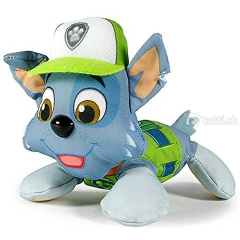 Paw Patrol Mini Plüsch Rocky - Fabrikneu!!
