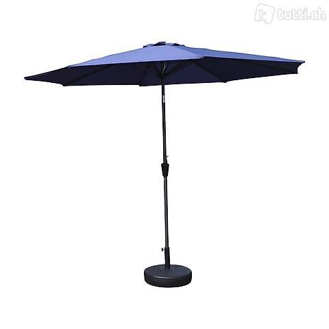 Ombrellone blu 300 cm (Consegna gratuita)
