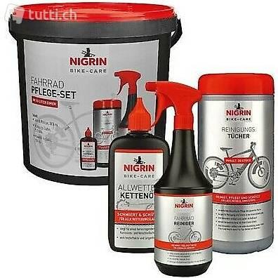 Nigrin Bike Care Pflege Set mit Eimer