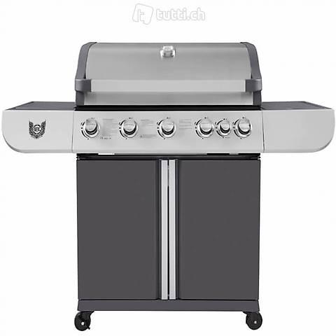 Barbecue a gas BBQ Chief Vision 5+1 (Consegna gratuita)
