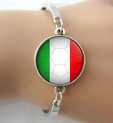 Italien Fanband Armband Suadra Azzurra EM 2020 EM 2016