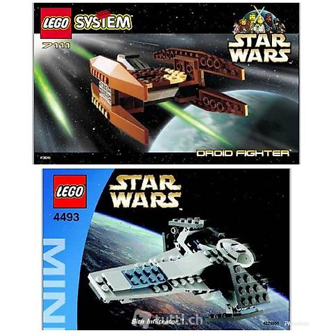 Lego 2x Star Wars Mini erste Generation