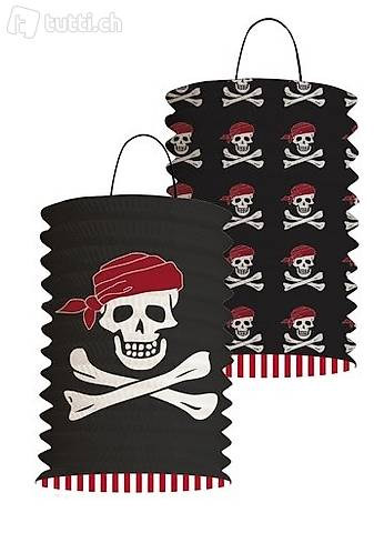 2 Laternen Pirat