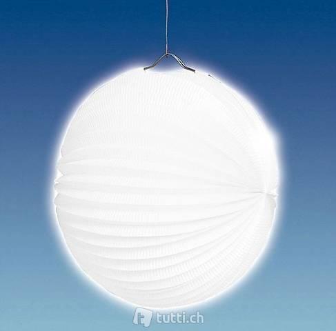 Lampion Weiss 25cm