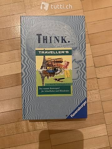 Kartenspiel - Ravensburger Think - Travellers