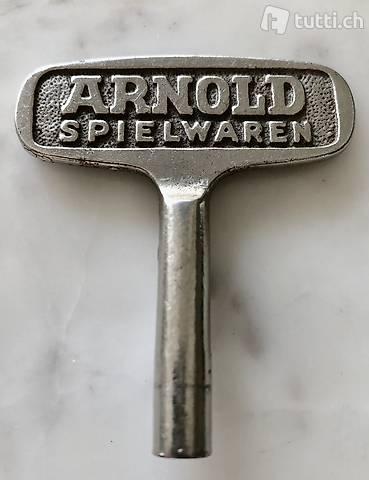 Original ARNOLD Spielwaren-Schlüssel